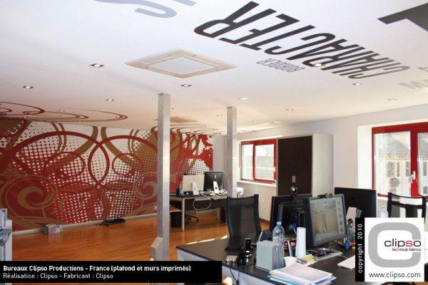 Impression numérique murs et plafonds par l'Atelier du Comte Emporain