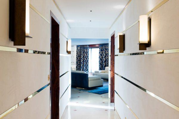 Tissu tendu en appartement à Bordeaux
