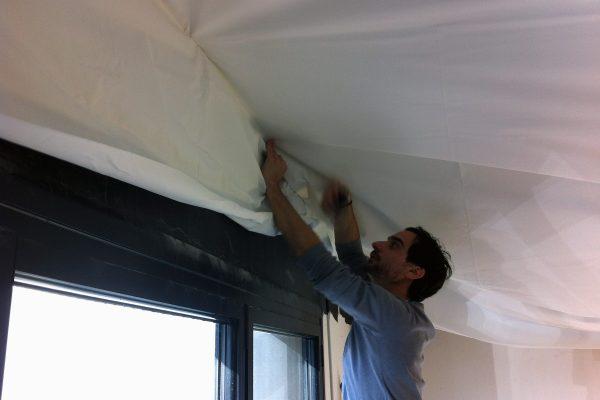 Pose de plafond tendu à froid - Bordeaux